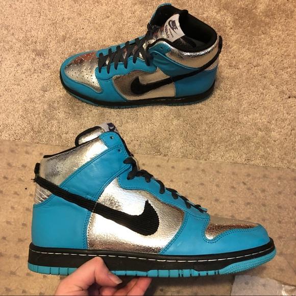 best service 30a45 2dfcf Nike SB Dunk High iD Custom Multi-Color Women s 10.  M 5b6c54e7819e90c711fc6f64